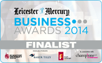 Leicester Mercury Business Awards 2014 Finalist